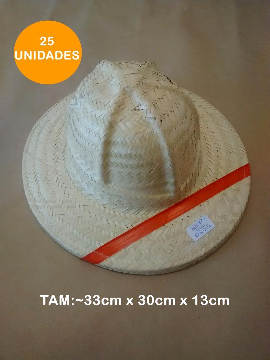 25 Chapéu De Palha Capacete Safari Oferta Aba 7cm 0105 - R  240 0a22abd35b1