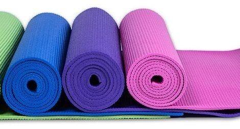 25 Colchonetas Mat Yoga Pilates Deporte 6 Mm Pvc. Inc Envío ... 25f17e03a7aca