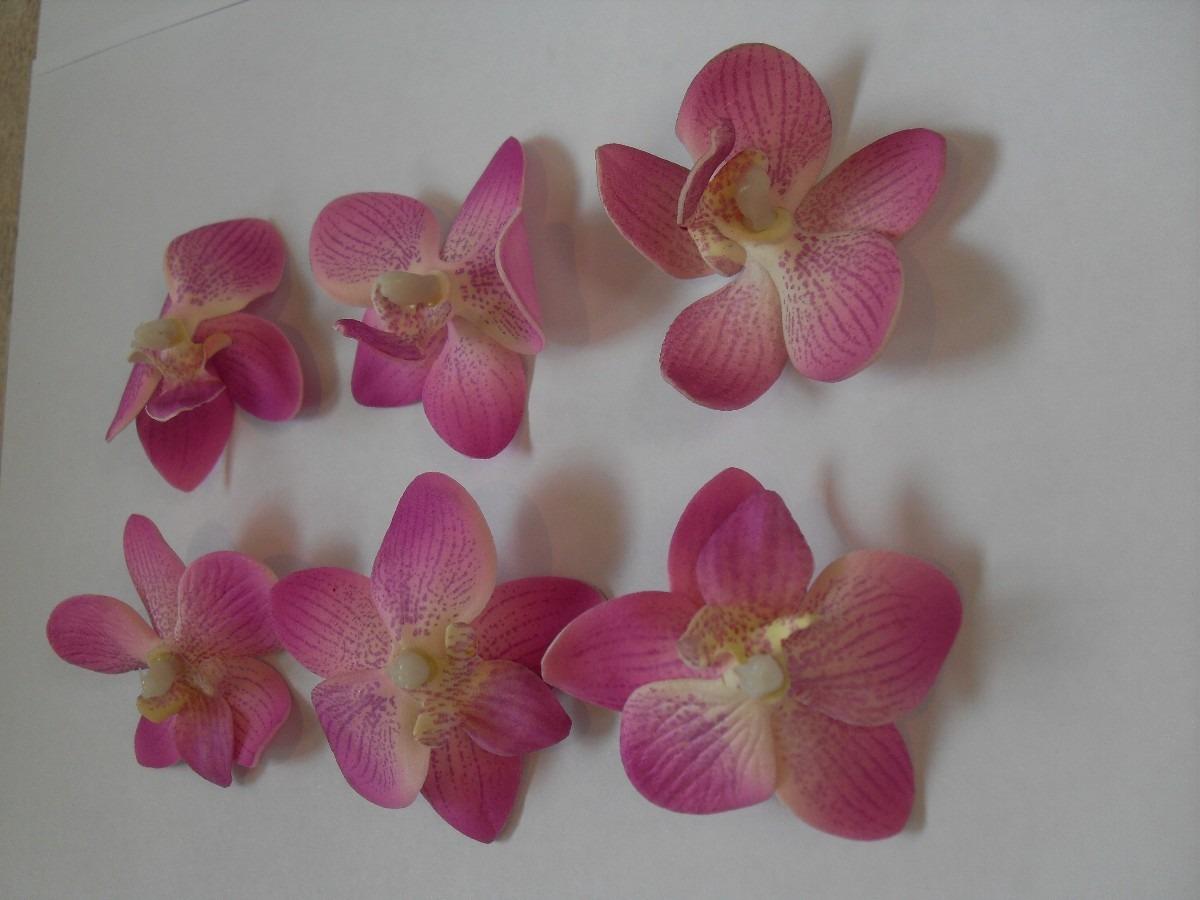 25 flores de tela para manualidades jabones lazos cintillo - Manualidades con lazos ...