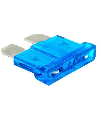 25 fusibles automotrices de caja 15 amper azul