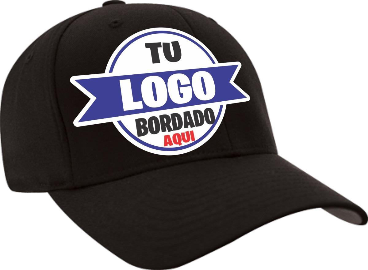 25 Gorras Bordadas Personalizadas Con Un Logo -   1 fc5a64f1543