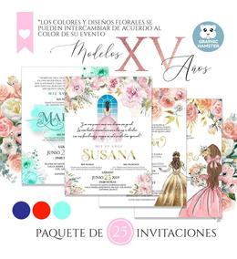 Invitaciones Para Xv A Os Dni Invitaciones Y Tarjetas De