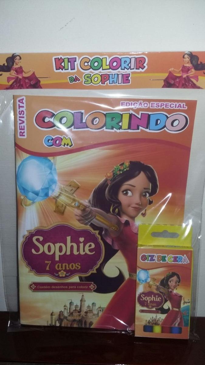25 Kit Colorir Revistinha Livrinho Elena De Avalor R 112 50 Em