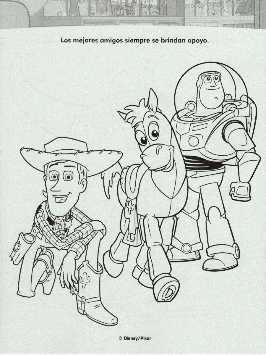 Imagenes Para Colorear De Toy Story Impresion Gratuita