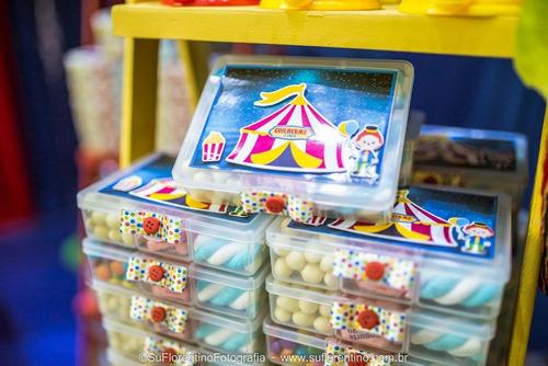 25 marmitinha plastica organizador doces/bijouterias festa