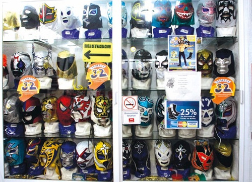 25 mascaras lucha libre infantil $745mx eventos fiestas