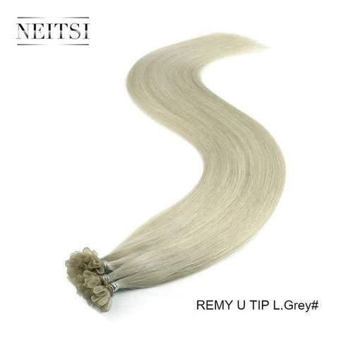 25 mechas com queratina cabelo humano 70 cm