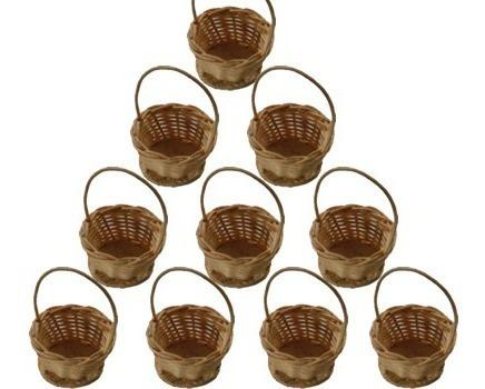 25 mini cesta lembrancinha palha bambu ref.200 03x05