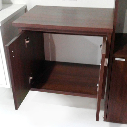 25 mm estante led comedor diseño rack flotante tv melamina