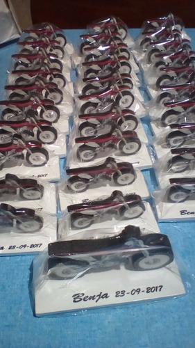 25 motos p/souvenir,18,40,50años + gde de reg.