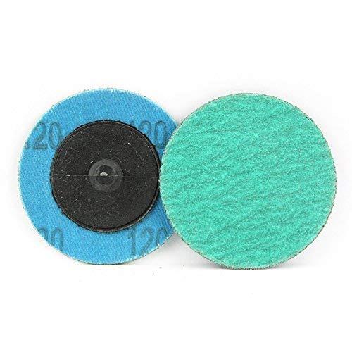 25 paquete - 2-inch verde zirconia con rutina ayuda rápido