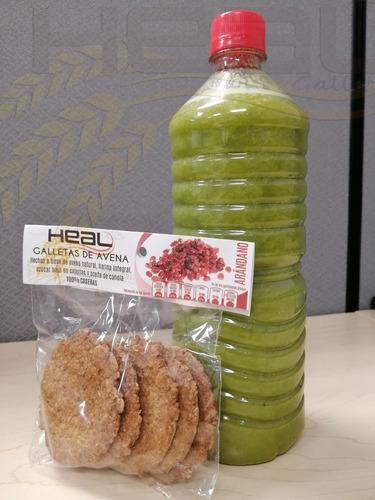 25 paquetes de galletas artesanales de avena