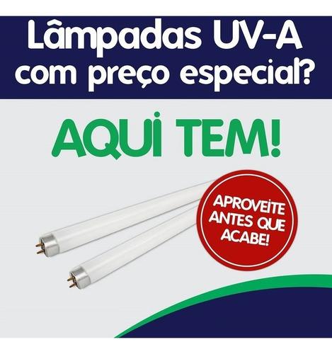 25 pçs - lâmpada uv-a 15w luz negra pega mata mosca mosquito