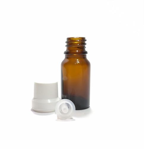 25 piezas frasco gotero vidrio ambar 5 ml envase oferta