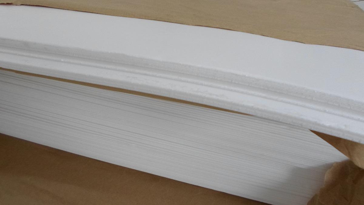 25 Placas Depron Foam Placa Pluma 68cmx60cm X 2mm