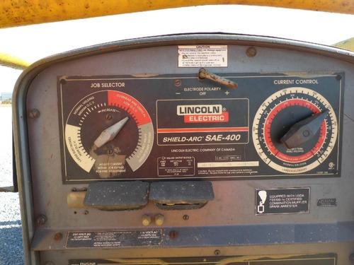 25) planta de soldar 400 amp 2009