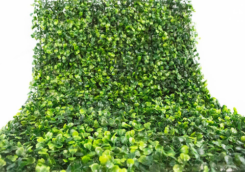 25 pzas muro verde follaje artificial sintentico 60x40 cm