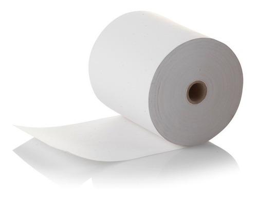 25 rollos papel termico 80x70 mm negro facturamos