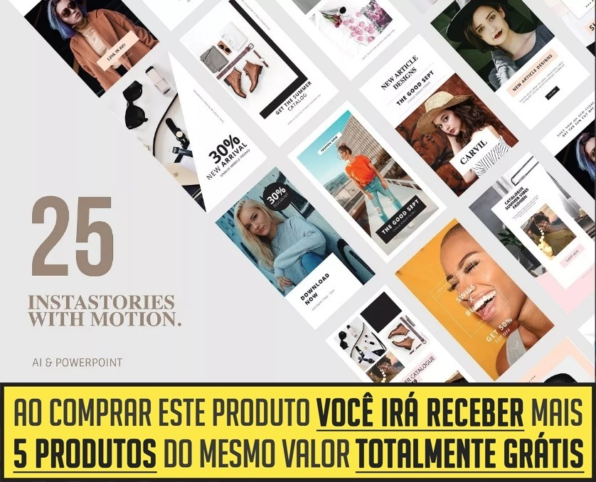 25 templates animados instagram stories power point brindes r 19 carregando zoom ccuart Image collections
