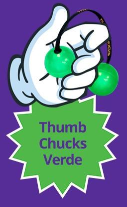 25 thumb chucks lançamento ioio de dedo novo spiner bate