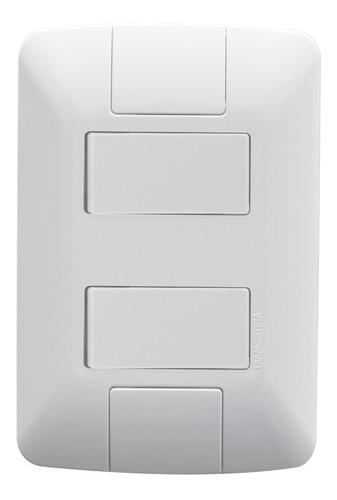 25 tomadas interruptores completos - tramontina + brinde