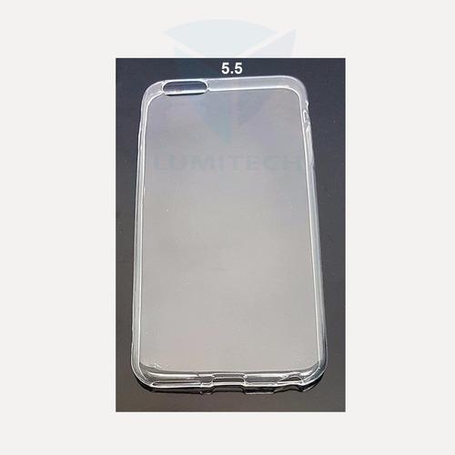 25 unidades de funda transparente iphone  i6 (5.5)