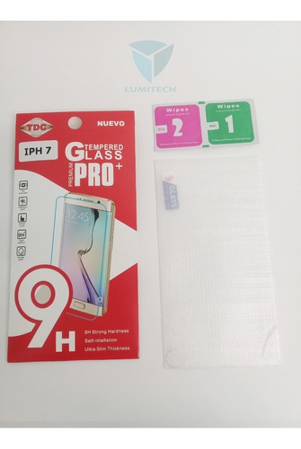 25 unidades --  vidrio templado para iphone por mayor