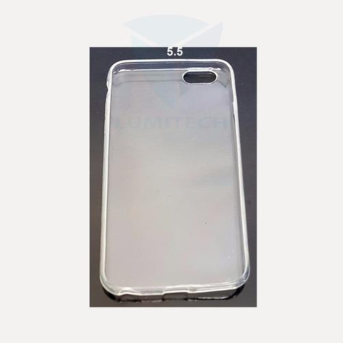 25 unidades x mayor funda transparente iphone  i6 (5.5)