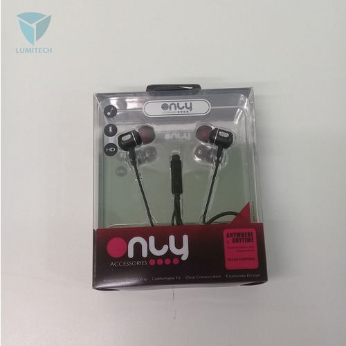 25 x auriculares marca only - 0025