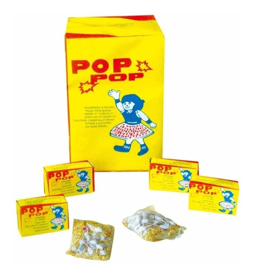 250 Cajas Brujitas Pop Pop Juguete Broma Economico Fiesta ...