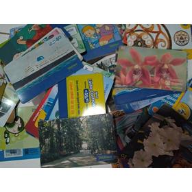 250 Cartões Telefônicos Nacionais+15 Internacionais + Brinde