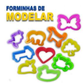 300 Cortador Forminhas De Modelar Massinha Promoção Atacado