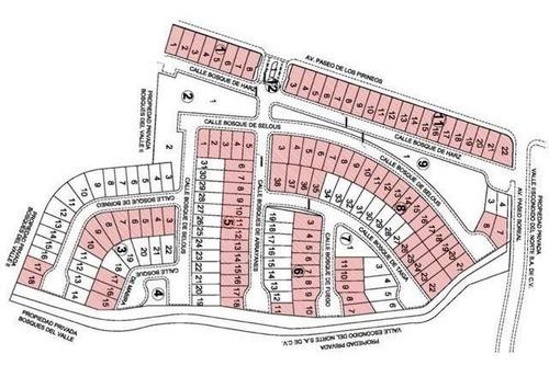 250 m2 bosques del valle iii terreno en venta guamacc 091116