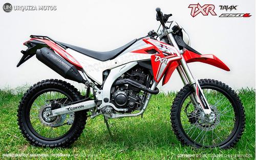 250 moto enduro corven triax