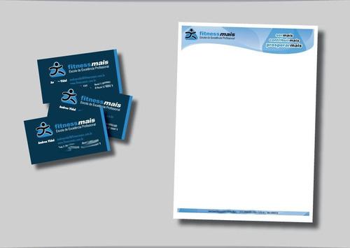 250 papel a4 (210x297) - timbrado - personalizado colorido