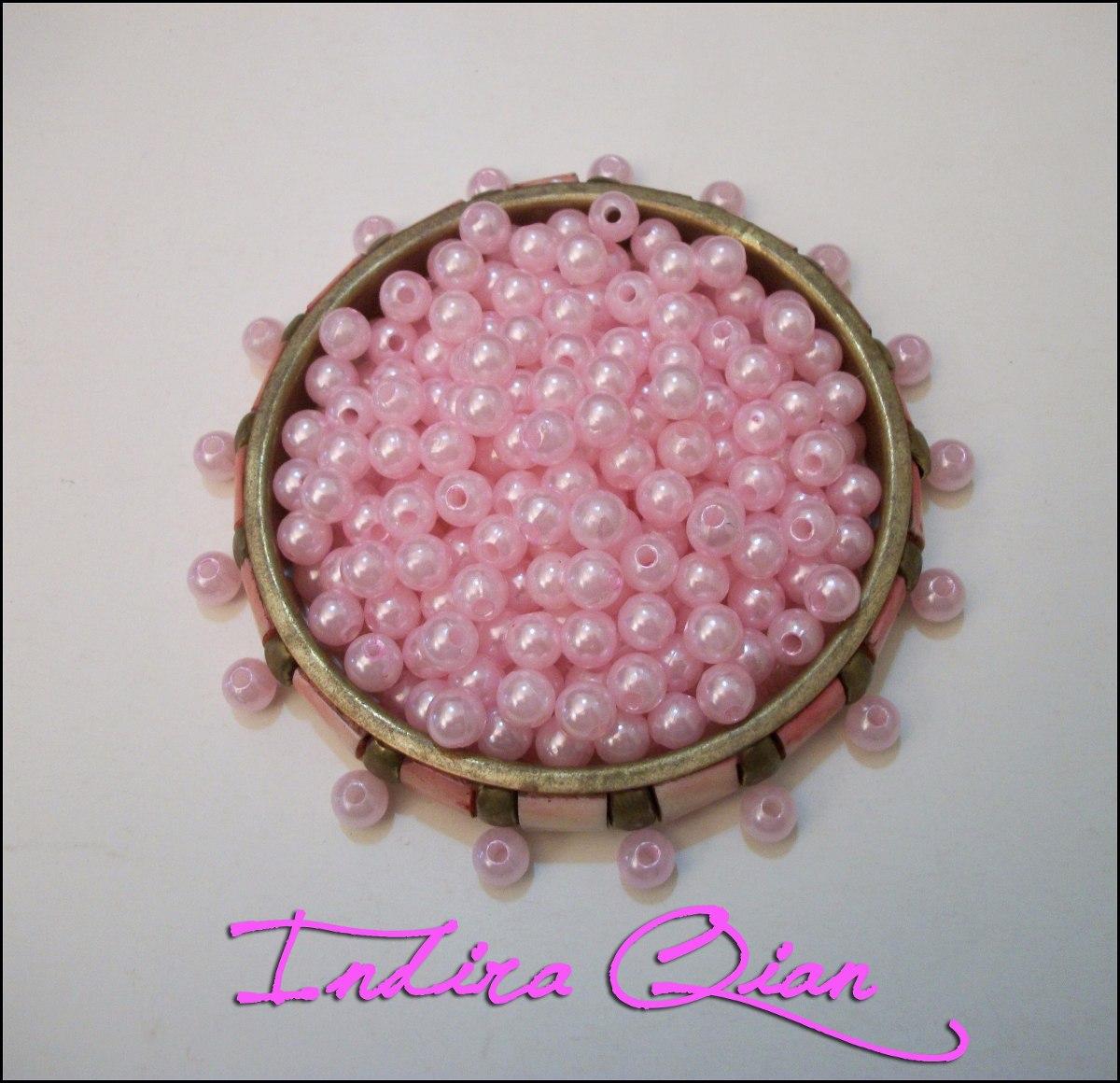 Lilac Purple 8mm craft pearls beads x250