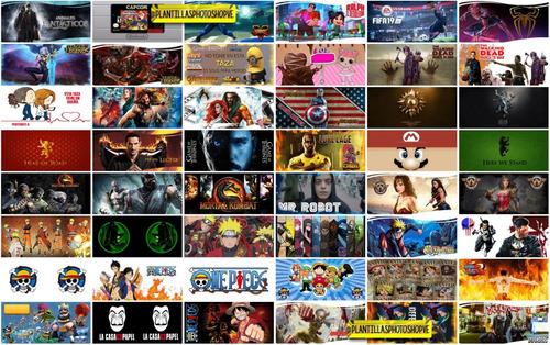 250 plantillas tazas jpg peliculas series anime y juegos