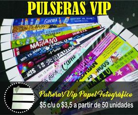 5309cf1978da Pulseras De Papel Para Eventos en Mercado Libre Argentina
