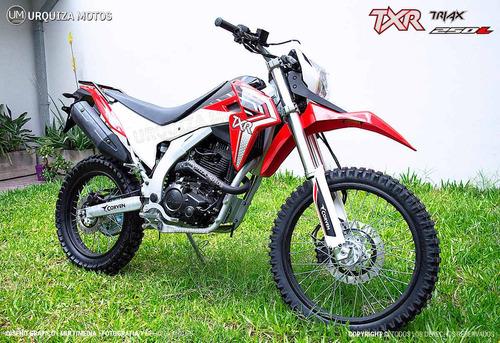 250 triax motos moto corven
