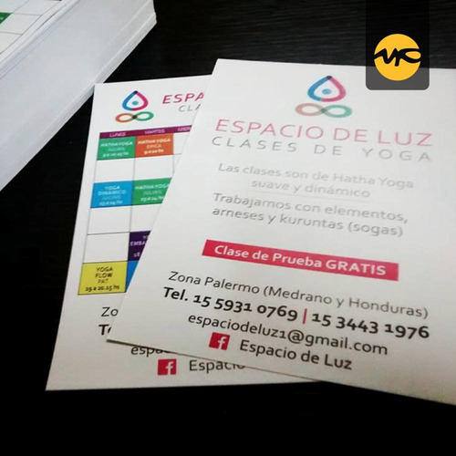 2500 folletos 10x15 full color frente y dorso