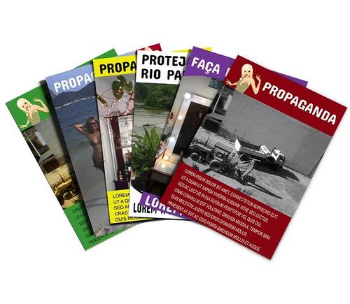 2500 panfletos 15x20  colorido frente e verso promoção
