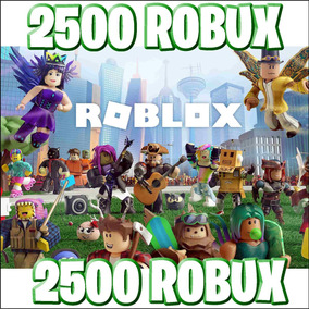 Roblox Ps4 Jogo - 2500 Robux At Roblox Entrega Inmediata