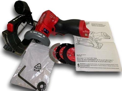 2522-20 cortadora compacta m12 fuel milwaukee cuotas