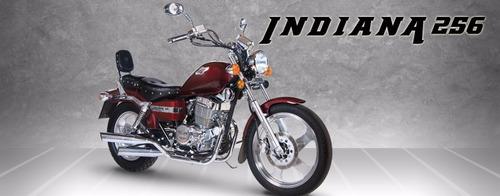 256 chopper motos moto corven indiana