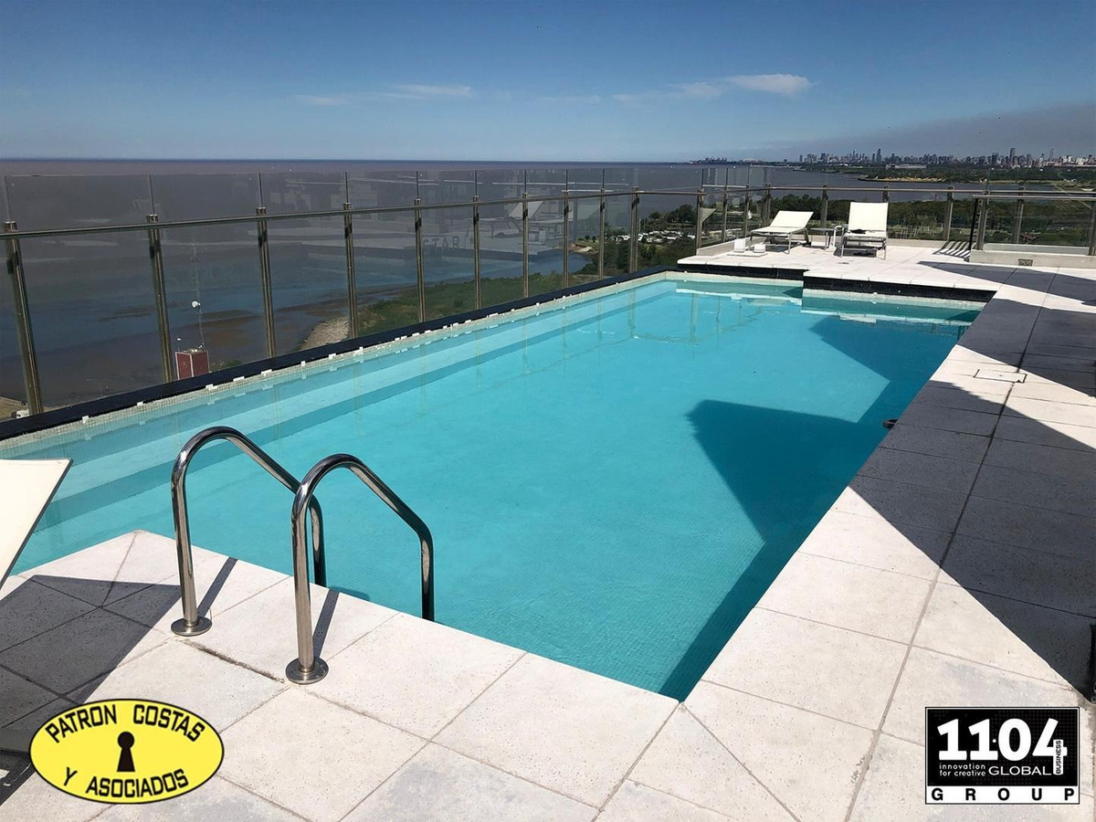 2586ro departamento en star tower olivos con piscina gim