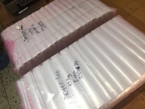 25kg bolsa para hielo polietileno 30/60cm v/calibres