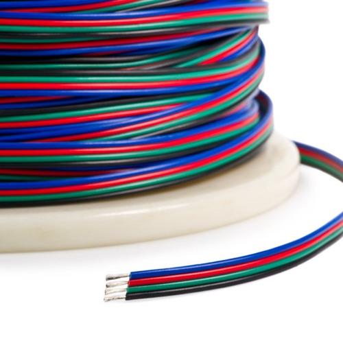 25mt cable rgb tetrapolar cinta led tira led 4 pines