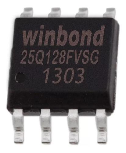 25q128fvsg 25q128 3.3v winbond ci virgem bios eprom 2x peças