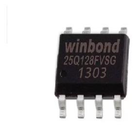 25q128fvsg Eprom 25q128 Winbond Bios Virgem 3 3v - 2 Peças