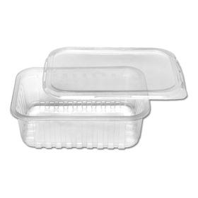 25unid Embalagem Microondas E Freezer 500ml Marmita Fitness